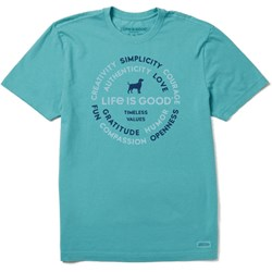 Life Is Good - Mens Superpowers Dog Crusher T-Shirt