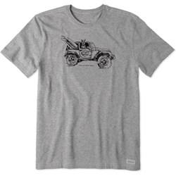 Life Is Good - Mens Take Me Atv Crusher T-Shirt