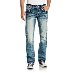 Rock Revival - Mens Leeroy J200 Straight Jeans