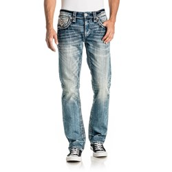 Rock Revival - Mens Urban Chic J200 Straight Jeans