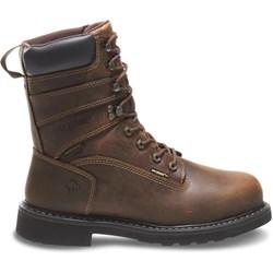 """Wolverine - Mens Brek 8"""" Wp Boots"""