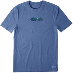 Life Is Good - Mens Retro Camp Crusher T-Shirt