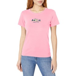 Life Is Good - Womens Happy Trails Vintage Crusher T-Shirt