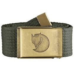 Fjallraven - Unisex Canvas Brass 4 Cm Belt