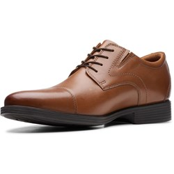 Clarks - Mens Whiddon Cap Shoes