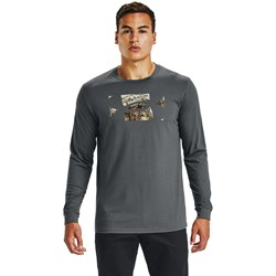 Under Armour - Mens Camo Fill Long-Sleeve T-Shirt