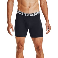 Under Armour - Mens Charged Cotton 6In 3 Pack Underwear Bottoms
