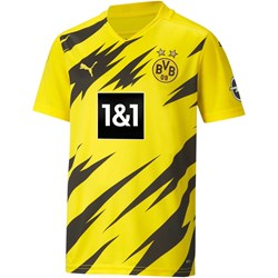 Puma - Kids Bvb Home Replica Short Sleeve W/ Sponsor Logo W/ Opel T-Shirt