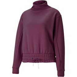 PUMA - Womens Forever Luxe Mock Neck Top