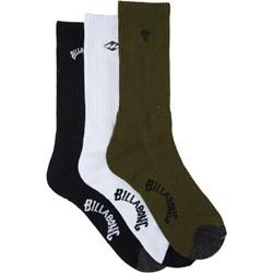 Billabong - Mens Mixed Bag Crew Socks