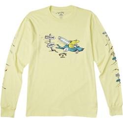 Billabong - Mens Little Car Long Sleeve T-Shirt