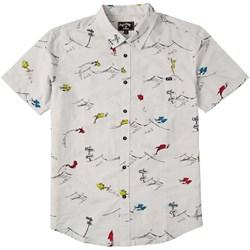 Billabong - Kids One Fish Two Fish Short Sleeve Woven Shirt