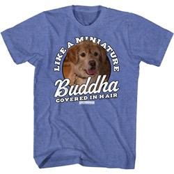 Anchorman - Mens Miniature Buddha T-Shirt