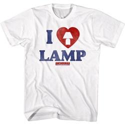 Anchorman - Mens I Love Lamp T-Shirt
