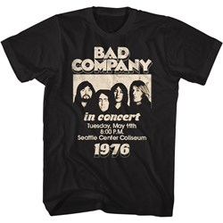 Bad Company - Mens In Concert 76 T-Shirt