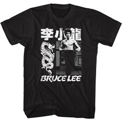 Bruce Lee - Mens Chinese Name T-Shirt