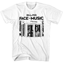 Bill And Ted Face The Music - Mens B&T Ftm Phone Booth T-Shirt
