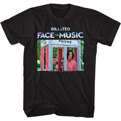 Bill And Ted Face The Music - Mens B&T Ftm Booth Color T-Shirt