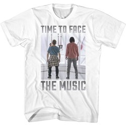 Bill And Ted Face The Music - Mens Time To Face T-Shirt