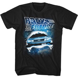 Back To The Future - Mens Spacecar T-Shirt