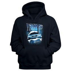 Back To The Future - Mens Spacecar Hoodie