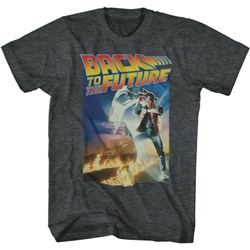 Back To The Future - Mens Poster With A Gig Logo T-Shirt