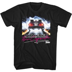 Back To The Future - Mens Powered By Flux T-Shirt