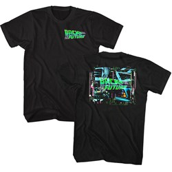 Back To The Future - Mens Neonbttf T-Shirt