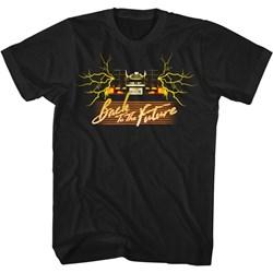 Back To The Future - Mens Yellowcar T-Shirt