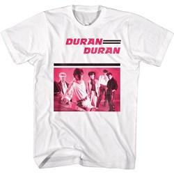 Duran Duran - Mens Pinkduran T-Shirt