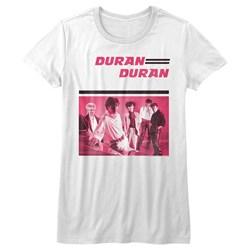 Duran Duran - Womens Pinkduran T-Shirt