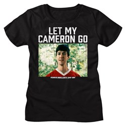 Ferris Beullers Day Off - Womens Let My Cameron Go T-Shirt