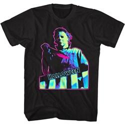Halloween - Mens Neon Knife T-Shirt