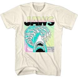 Jaws - Mens Neon Waves T-Shirt