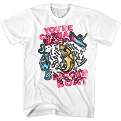 Jaws - Mens Sketch Boat T-Shirt