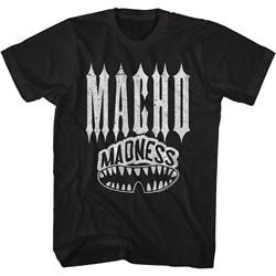 Macho Man - Mens Macho Teeth T-Shirt