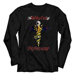 Motley Crue - Mens Dr Feel Good Long Sleeve T-Shirt