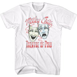 Motley Crue - Mens Dotty Masks T-Shirt