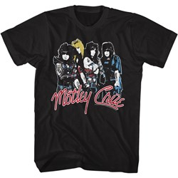 Motley Crue - Mens Band Logo T-Shirt