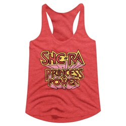 Masters Of The Universe - Womens Sheralogo Racerback Tank Top