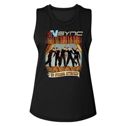 Nsync - Womens No Strings No Words Tank Top
