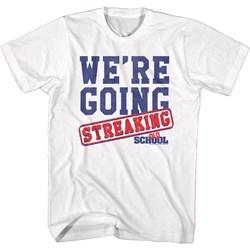 Oldschool - Mens Streaking T-Shirt