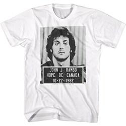 Rambo - Mens Rambo Mugshot T-Shirt