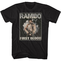 Rambo - Mens First Blood T-Shirt