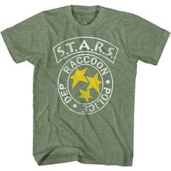 Resident Evil - Mens S.T.A.R.S. Rpg T-Shirt