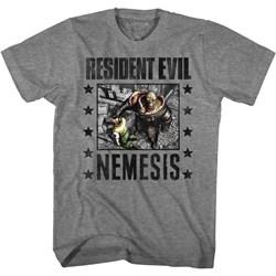 Resident Evil - Mens Nemesis Facegrab T-Shirt