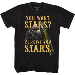 Resident Evil - Mens I'Ll Give You Stars T-Shirt