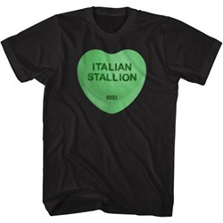 Rocky - Mens Italian Stallion Heart T-Shirt
