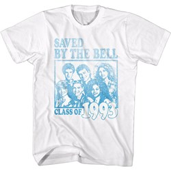 Saved By The Bell - Mens Faded Class Of 93 T-Shirt