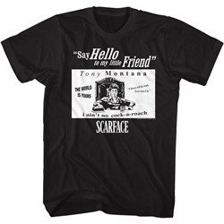 Scarface - Mens Sf Quotes T-Shirt